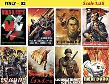 Poster vintage 1:35 Italy Cod. 02
