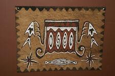 Rare Tapa Kapa Lake Sentani Bark Cloth Abstract Painting Handpainted Pigments 10