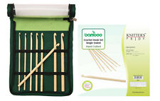 Knitter's Pride Bamboo Crochet Hook Set Single Ended