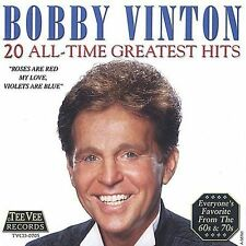 20 All-Time Greatest Hits by Bobby Vinton (CD, Jul-2002, Teevee Records)