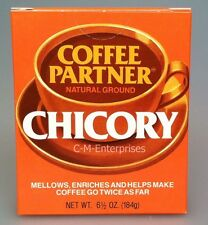 Coffee Partner Natural Ground Chicory 6.5 oz