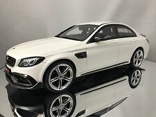 GT Spirit Mercedes Benz C Class Brabus 650 C63 AMG S Sedan White 1/18