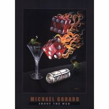 "Michael Godard-""SHOOTING THE WAD"" Gambling-Craps-Dice-Poker-Las Vegas-Poster"
