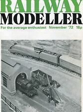 Railway Modeller Magazine Nov 1972 - Winton, Signal Box Diagrams, River Aire