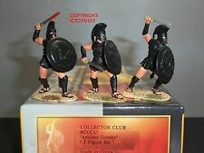 CONTE CCC17 COLLECTORS CLUB ANCIENT GREEKS GREECE METAL TOY SOLDIER FIGURE SET