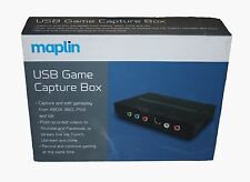 maplin USB Game Capture software  PS3/XBOX 360 Wii - NEW