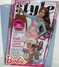 BARBIE DOLL NIB STYLE COLLECTION FASHION BOOK GENUINE CLOTHES COLLECTORS