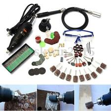 142Pcs 130W Electric Power Rotary Tool Multipurpose Drill Accessories For Dremel