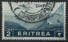 L'Érythrée 1936 SG # 244, 2L air utilisé #D 9188