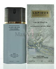 Lapidus by Ted Lapidus Pour Homme Eau De Toilette 3.3 OZ  for Men NEW