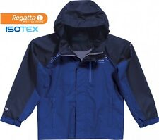 Regatta Womens Shutdown Lightweight Waterproof Breathable Jacket Blue 10