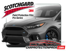 2016 Ford Focus RS 3M Scotchgard PRO Paint Protection Film Clear Bra Bumper Kit