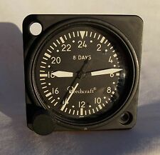 Cold War USAF USN USMC 8 Day 24 Hour Aircraft Clock Type A-11-24, Overhauled