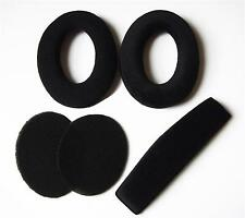 A Set Ear pads Headband Cushions For Sennheiser HD515 HD518 HD555 HD558 HD595