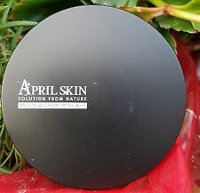 [April Skin] Magic Snow Cushion(Full Size,15g),  #22 Pink Beige  [Ship from CA]
