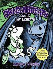 Dragonbreath #4: Lair of the Bat Monster by Ursula Vernon c2014 NEW Paperback