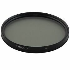 Slim 62mm Linear Polarising Filter Polarizer Filter DynaSun PL 62 mm