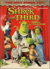 Shrek the Third (DVD, 2007, Widescreen Edition Canadian; French English)