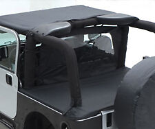 Smittybilt Tonneau Cover 92-95 Jeep Wrangler YJ 721015 Black Denim
