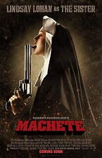 Machete movie poster - Lindsay Lohan poster  - 11 x 17 inches
