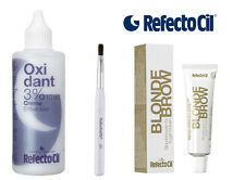 Refectocil BLOND BROW KIT  with Developer Cream 3%  100ml  eyebrow tint dye