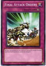 YUGIOH Final Attack Order Deck Battle Position Change Control Complete 40-Cards