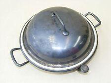 schöner alter Teller, Warmhalter, Wärmebehälter, Essen warmhalten, erwärmen,