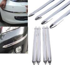 4Pcs Chrome Stoßstange Eckenschutz Kantenschutz -Auto-Dekoration-Streifen
