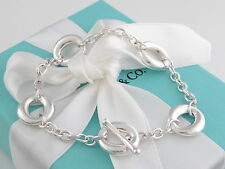 Tiffany & Co Silver Peretti Sevillana Toggle Bracelet