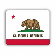 California State Flag Computer Mouse Mat Pad Desktop PC Laptop Mouse Mat