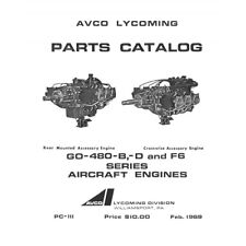 Lycoming Aircraft Engine Parts Catalog PC-111