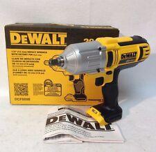 "Dewalt DCF889B NEW 20 Volt Max Cordless Li-Ion 1/2"" High Torque Impact Wrench"