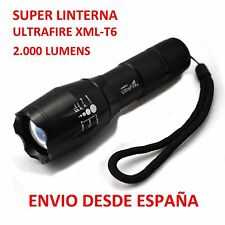 Super Flashlight Ultrafire CREE XML-T6 2000 Lumens