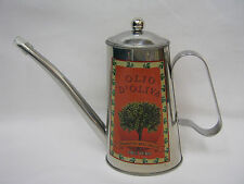 New Victor Stainless Steel Olive Oil Can Orange VCW480