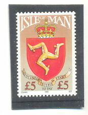 Isle of Man-£5 Postage due 1992 mnh