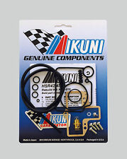 Genuine Mikuni KHS-016 HSR42 HSR45 Carburetor Rebuild Kit w/Free Tuning Manual