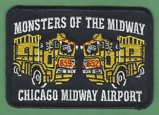 CHICAGO FIRE DEPARTMENT MIDWAY AIRPORT ARFF PATCH