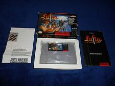 Lufia & The Fortress Of Doom Complete Super Nintendo Game SNES