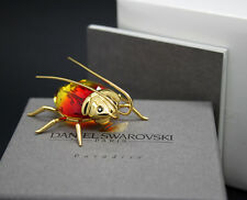 New in box SWAROVSKI Paradise insect bug BEETLE AMAZAR FIRE OPAL Large 240 362