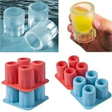 SILICONE COOL ICE FROZEN SHOT GLASSES ICE MOLD SHOT GLASS ICE TRAY