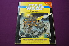 STAR WARS D6 RPG JDR Jeu de Role - Outrespace