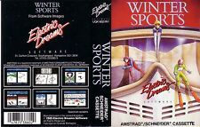 Sports d'hiver (electric dreams 1985) amstrad game-clamshell-très bon état complet