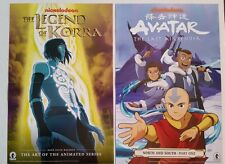 Comic Con 2016 Handout AVATAR The Last Airbender / The Legend of Korra poster