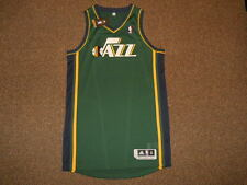Utah Jazz Green Blank Adidas Rev 30 Authentic Jersey sz XL +2 Mens New