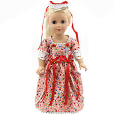 "Fits 18"" American Girl Madame Alexander Handmade Doll Clothes dress MG056"