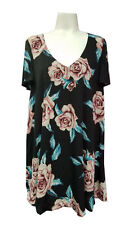 Show Me Your MuMu Ladies Flower Hour Short Sleeve Kylie Mini Dress NEW-S