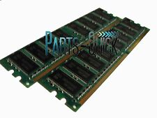 2GB 2 X 1GB PC2700 DDR 333 MHz DIMM Low Density Desktop Memory RAM Acer Dell HP