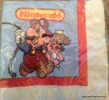 MARIO BROS Napkins Cake Birthday Decoration Party Supplies Luigi Nintendo game