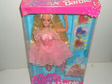 VINTAGE 1993 MATTEL LOCKET SURPRISE BARBIE - NEW - PINK - 4+
