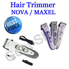 Nova/Maxel Rechargeable Professional Hair Trimmer Razor Shaving Machine